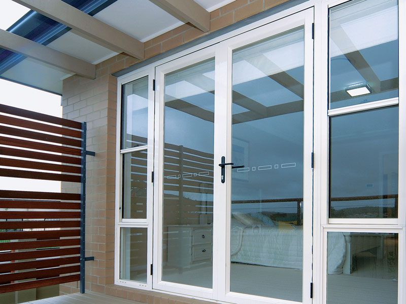 Aluminium french doors sydney betaview for Aluminum french doors