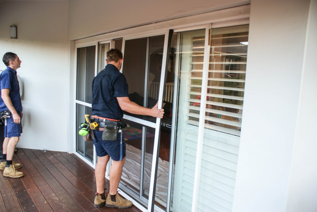 The installation team will assess the building, any existing windows and doors and the area where they will be working to ensure everything is ready for work to begin. The area is prepared and drop sheets are laid where necessary to help prevent any damage.